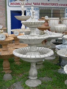 La jardinera fuentes y accesorios para jardines for Accesorios para jardin
